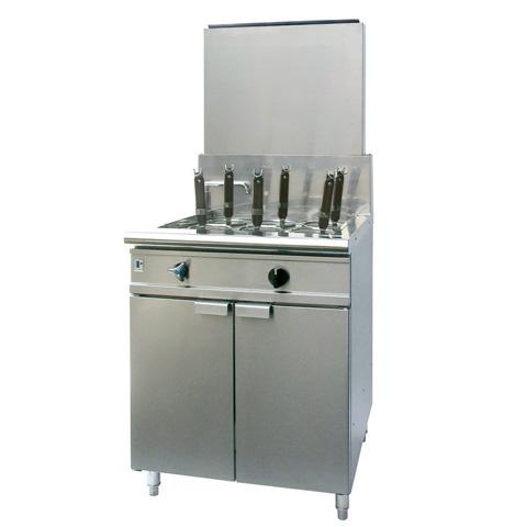 フジマック ガスゆで麺器(低輻射タイプ) FGNB606506 LPG(プロパンガス)【 メーカー直送/代引不可 】【厨房館】