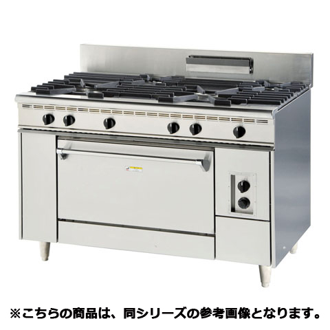 フジマック ガスレンジ(内管式) FGRAS181280 【 メーカー直送/代引不可 】【厨房館】