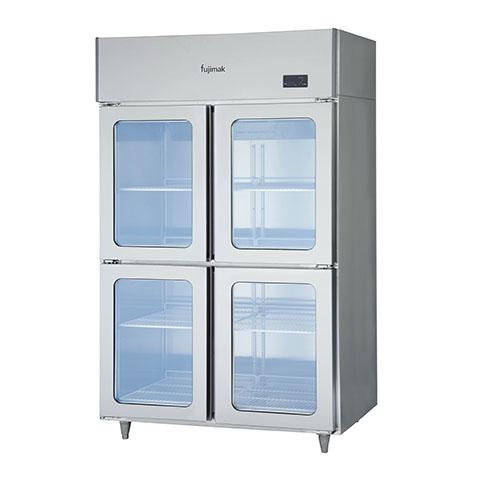 フジマック 冷蔵庫(ガラス扉タイプ) FR1280ASKi 【 メーカー直送/代引不可 】【厨房館】