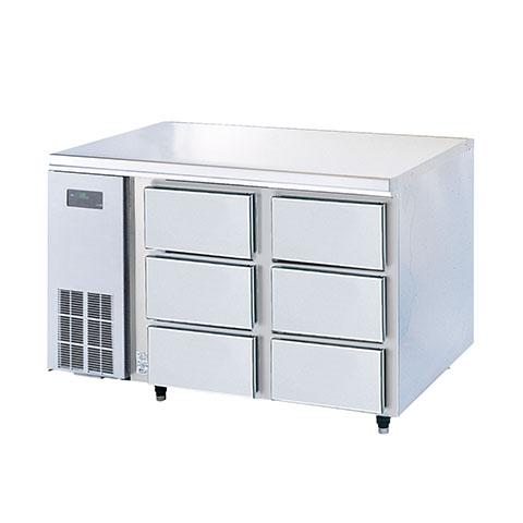 フジマック 冷凍ドロワーコールドテーブル FRFD1275K 【 メーカー直送/代引不可 】【厨房館】