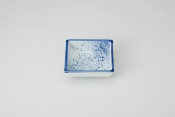 和食器 吹墨 角鉢(小) 35K085-04 まごころ第35集