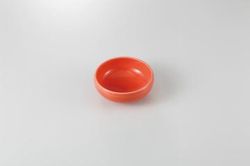 和食器 淡オレンジ 鉄鉢小鉢 35K084-05 まごころ第35集
