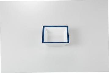 和食器 渕紺 角鉢 35K084-17 まごころ第35集