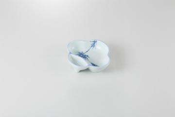 和食器 梅型竹 仕切鉢 35K086-15 まごころ第35集
