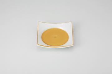 【まとめ買い10個セット品】和食器 白金巻 渕上り角皿 36K078-07 まごころ第36集 【キャンセル/返品不可】【厨房館】