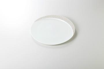 【まとめ買い10個セット品】和食器 シルバームーン ディナー皿 35K131-10 まごころ第35集 【キャンセル/返品不可】【厨房館】
