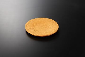 【まとめ買い10個セット品】和食器 黄金石 砂目8寸皿 36K123-05 まごころ第36集 【キャンセル/返品不可】【厨房館】