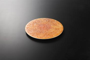 【まとめ買い10個セット品】和食器 陸 石肌20.5cm丸皿 35K127-08 まごころ第35集 【キャンセル/返品不可】【厨房館】