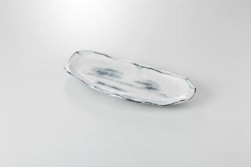 【まとめ買い10個セット品】和食器 粉引化粧流 焼物皿 35Q164-14 まごころ第35集 【キャンセル/返品不可】【厨房館】