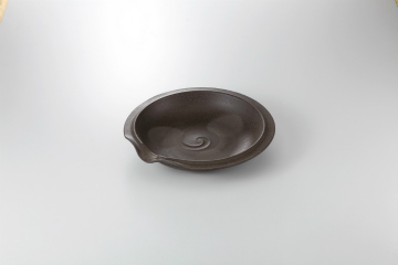 和食器 焼〆南蛮 片口浅鉢 35K231-09 まごころ第35集
