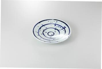 和食器 翔彩 8.0丸皿 35K205-04 まごころ第35集