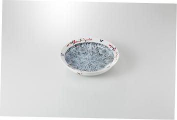 【まとめ買い10個セット品】和食器 赤絵内十草 甲鉢 35K252-01 まごころ第35集 【キャンセル/返品不可】【厨房館】