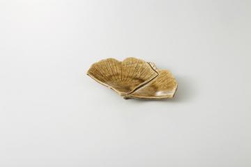 【まとめ買い10個セット品】和食器 いちょう 銘々皿 36Q176-01 まごころ第36集 【キャンセル/返品不可】【厨房館】