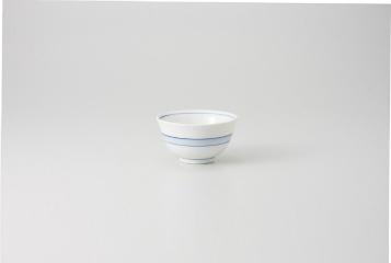 和食器 染付帯 千茶(強化) 35K299-28 まごころ第35集 【キャンセル/返品不可】【厨房館】