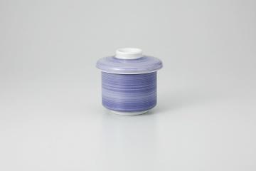 和食器 紫刷毛 むし碗 35K271-13 まごころ第35集 【キャンセル/返品不可】【厨房館】
