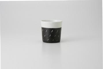 【まとめ買い10個セット品】和食器 黒陶彫込 フリーカップ 35M285-17 まごころ第35集 【キャンセル/返品不可】【厨房館】