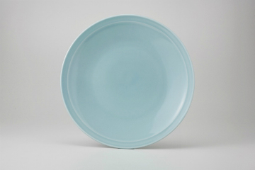 【まとめ買い10個セット品】和食器 青磁 丸尺皿 36K355-10 まごころ第36集 【キャンセル/返品不可】【厨房館】