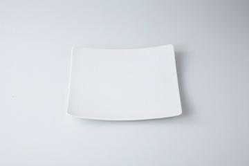 【まとめ買い10個セット品】和食器 ミラージュ(白) 角皿 35K404-08 まごころ第35集 【キャンセル/返品不可】【厨房館】