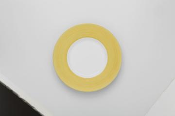 【まとめ買い10個セット品】和食器 緑雲彩 リム8.5皿 36K478-08 まごころ第36集 【キャンセル/返品不可】【厨房館】