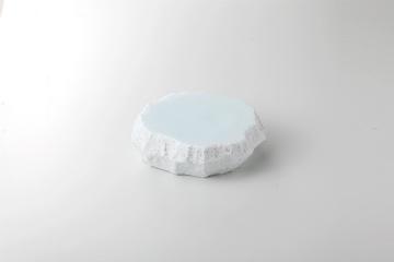 【まとめ買い10個セット品】和食器 青白御影 岩高台皿(小) 35K392-01 まごころ第35集 【キャンセル/返品不可】【厨房館】