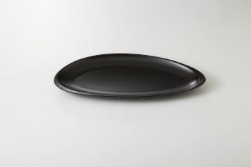【まとめ買い10個セット品】和食器 コクーン黒 プレートS 35A408-14 まごころ第35集 【キャンセル/返品不可】【厨房館】