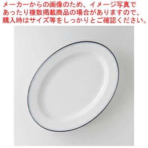 【まとめ買い10個セット品】和食器 ブルーボーダー 10″プラター 36A483-64 まごころ第36集 【キャンセル/返品不可】【厨房館】