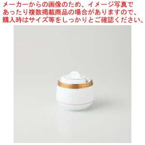 【まとめ買い10個セット品】和食器 ビクトリーゴールド(純白強化磁器) シュガー 36A484-17 まごころ第36集 【キャンセル/返品不可】【厨房館】