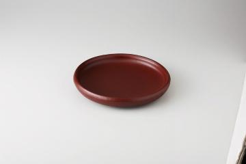 【まとめ買い10個セット品】和食器 朱赤 6.5陶板皿 36K501-12 まごころ第36集 【キャンセル/返品不可】【厨房館】