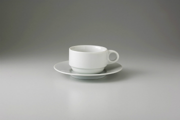 和食器 白スタック コーヒーC/S 35K487-09 まごころ第35集 【キャンセル/返品不可】【厨房館】