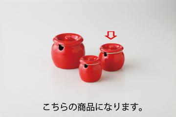 和食器 赤釉 1合たれ壷 35K537-08 まごころ第35集 【キャンセル/返品不可】【厨房館】