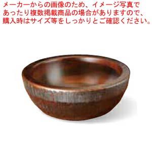和食器 荒彫・惣菜くり鉢(深型) ブラウン 中 36R421-16 まごころ第36集 【厨房館】