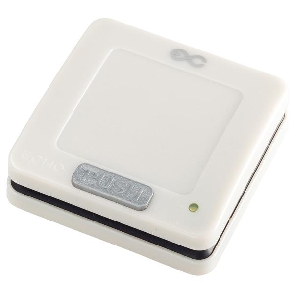 エコチャイム EC-301 角型送信機(電池レス)アイボリー 【厨房館】:業務用厨房機器の飲食店厨房館