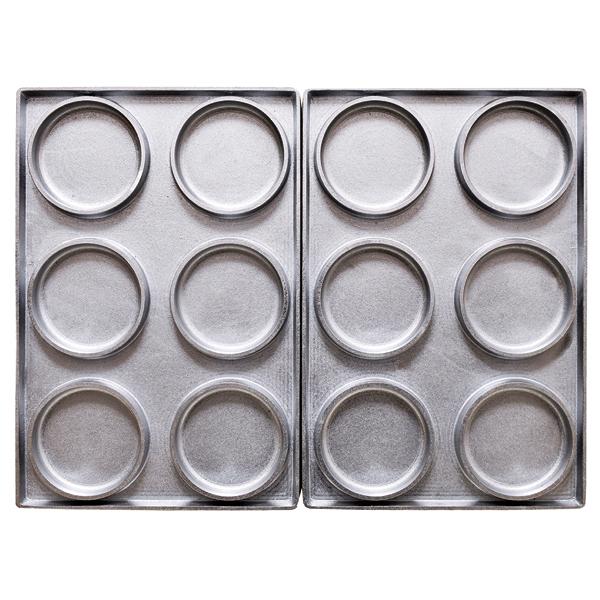 マルチベーカーPRO専用型 大判焼 6個取り 【厨房館】