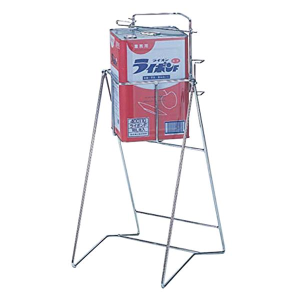 スチール缶スタンド角缶用 KC-01 【厨房館】