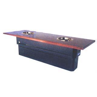 【 業務用 】炭火の華 無煙焼肉ロースター テーブルタイプ KMR-XFT218 [赤外線ロースター] 【 メーカー直送/代引不可 】