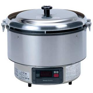 【 業務用 】リンナイマイコン制御ガス炊飯器 αかまど炊き RR-50G1