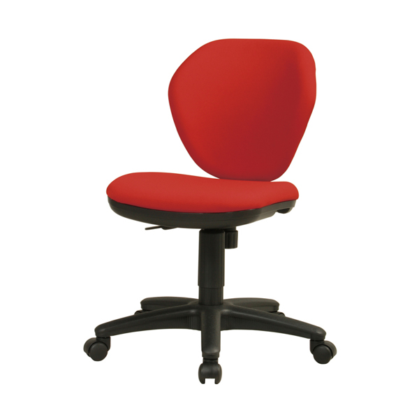 オフィスチェア〔レッド〕 K-921〔RD〕【 椅子 洋風 イス チェア パーソナルチェア 1人掛け 】【 メーカー直送/後払い決済不可 】