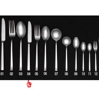 【まとめ買い10個セット品】 【 業務用 】KYS18-8 ノーザン デザートナイフ HH