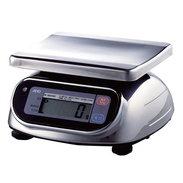 A&D 防水・防塵デジタルはかり SL-WP SL-2000WP 【厨房館】