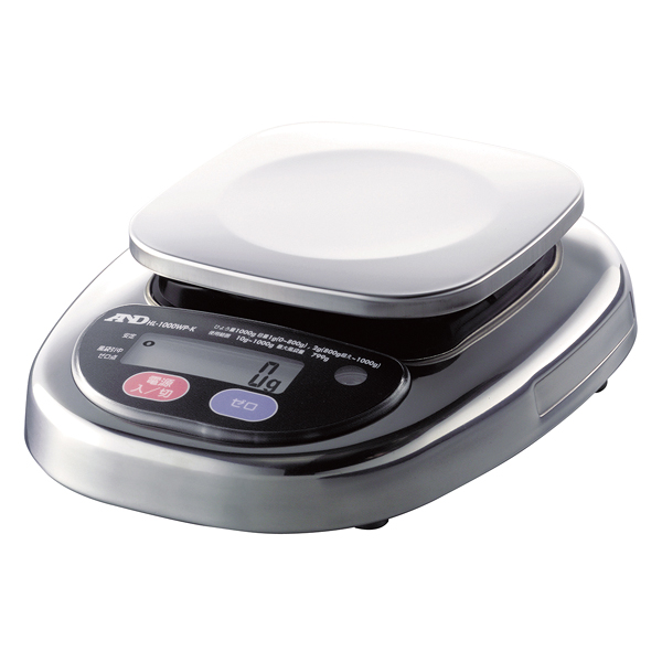 A&D 防水・防塵デジタルはかり HL-WP HL-300WP 【厨房館】