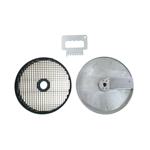 オプション部品 MSC-200用 ダイスカット円盤セット 15mm角 【厨房館】