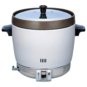 リンナイ ガス炊飯器 RR-20SF2(A) (2升炊き・フッ素釜) 13A 【厨房館】