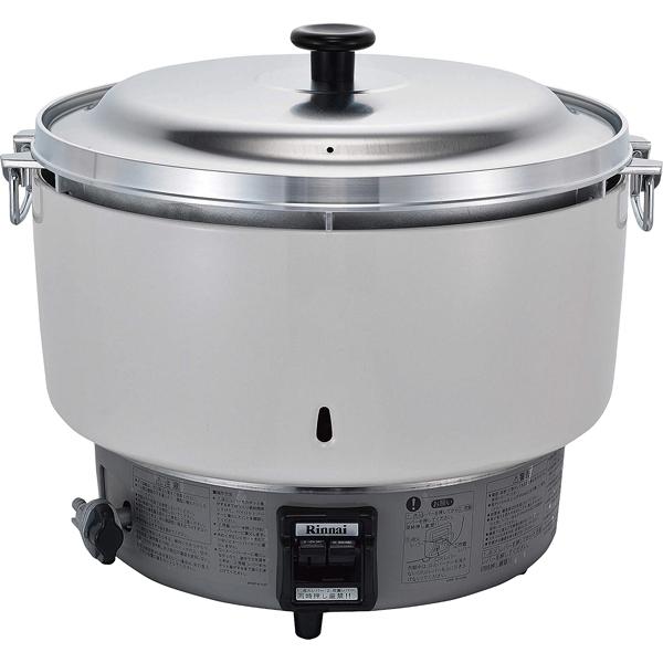 リンナイ ガス炊飯器 RR-50S1-F (5升炊き・フッ素釜) LP 【厨房館】