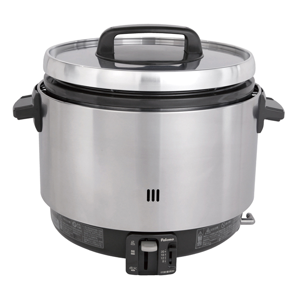 パロマ ガス炊飯器 PR-360SSF(凉厨) (2升炊き・フッ素釜) LP 【厨房館】