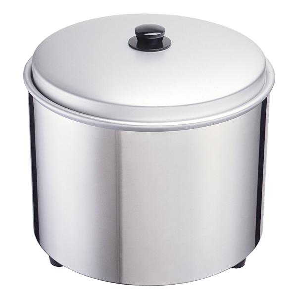 エバーホット 湯煎式電気びつ (オールステンレス) NV-35S(すし用) 【厨房館】