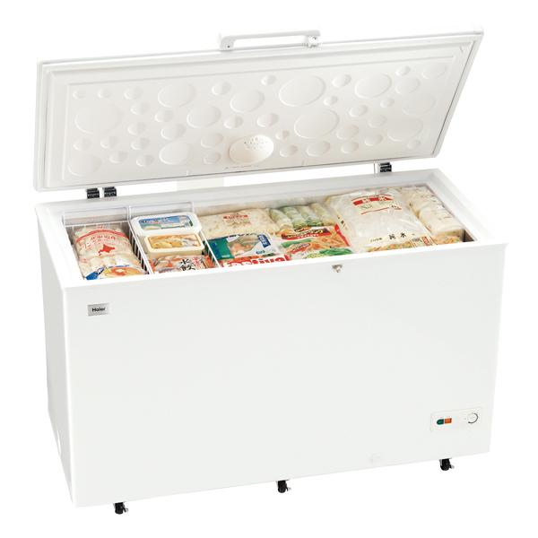 ハイアール チェスト式冷凍庫 JF-NC429F 【厨房館】