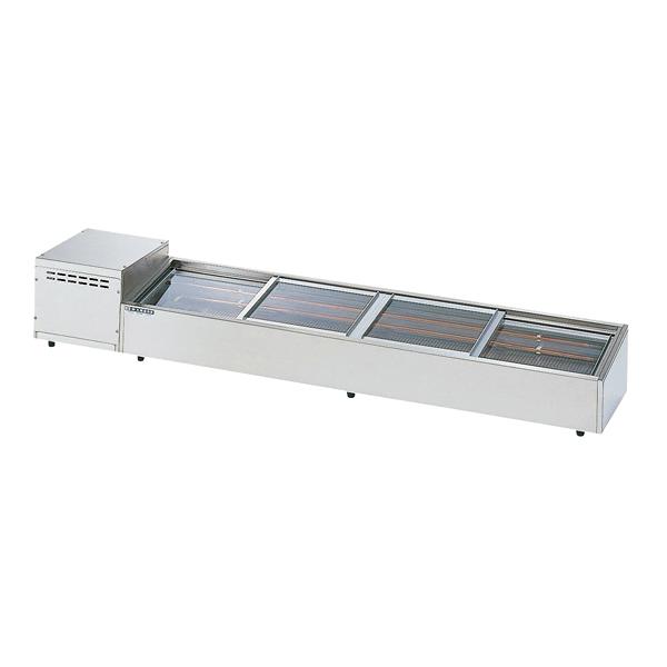 炉端ケース OHRSa型(機械室横付/スライド引戸タイプ) OHRSa-1500 左(L) 【厨房館】