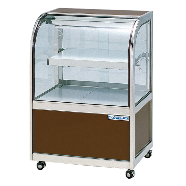 冷蔵ショーケース OHGU-Sf型(2段式・中棚1枚) OHGU-Sf-1200 後引戸(B) 【厨房館】