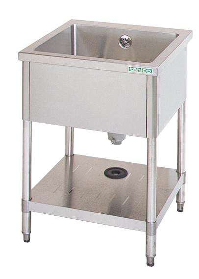 超爆安 一槽シンク 【厨房館】:業務用厨房機器の飲食店厨房館 TX-1S-120ANB (バックガードなし)-木材・建築資材・設備