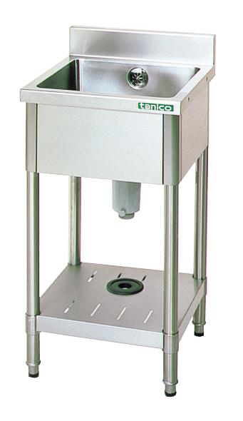 【現品限り一斉値下げ!】 【厨房館】:業務用厨房機器の飲食店厨房館 TX-1S-7545 一槽シンク-木材・建築資材・設備
